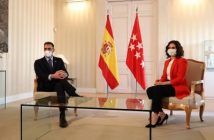 Spanish PM meets Madrid region