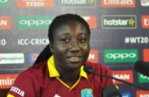 It's a great feeling: Stafanie after
