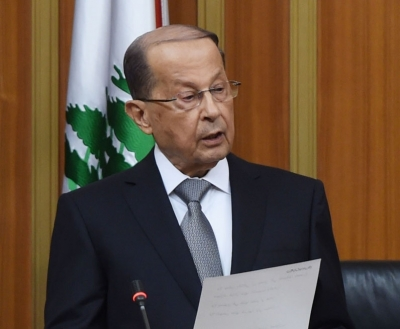 Lebanese Prez committed to French