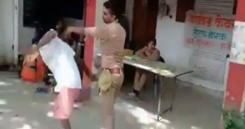 UP Police constable suspended for beating '