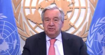 UN chief calls for end to political
