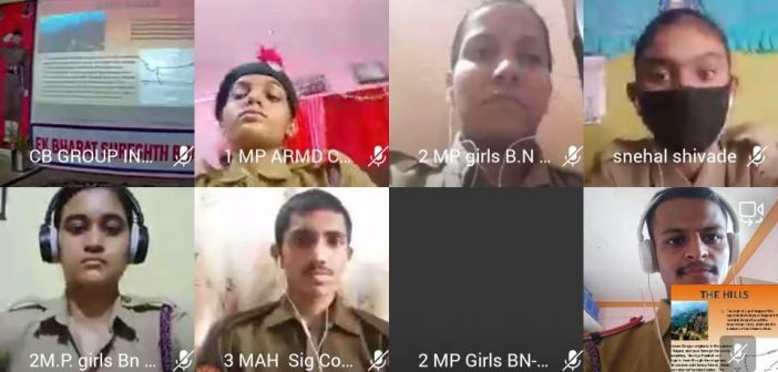 Third Online NCC Camp on 'Ek Bharat Shreshta Bharat'