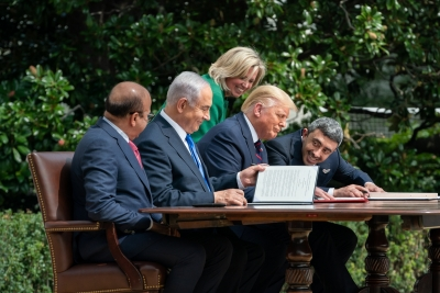 As the election looms large Trump touts Israel deal and pursues Af peace