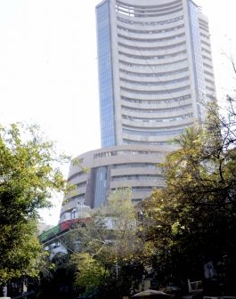 Equity indices trim major initial gains,