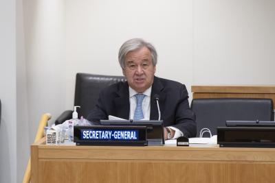 Guterres urges solidarity for people