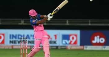 RR stay alive with seven-wicket