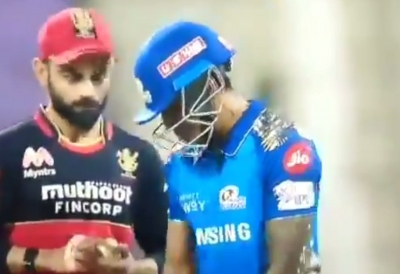 'Moment of the match': Suryakumar's stare at Virat lauded on social media