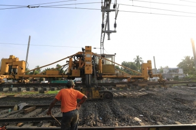 69 km rail line doubling completed