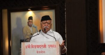 Bhagwat dubs CAA protests 'organised