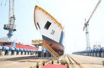 L&T Launches 7th Offshore Patrol Vessel for Indian Coast Guard