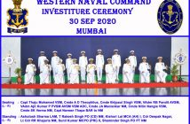 Naval Investiture Ceremony - 2020