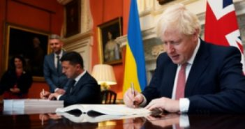 UK, Ukraine sign deal to boost