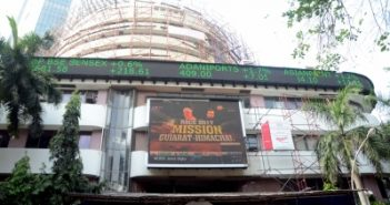 Sensex surges 500 points on
