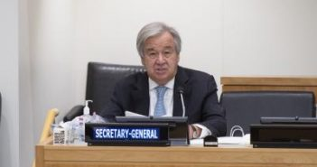 UN chief urges G20 to fill financing