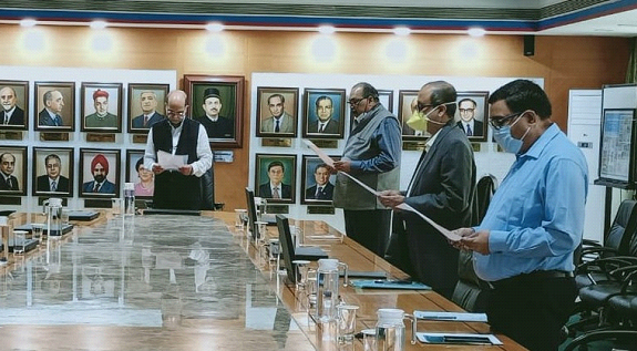 Central Bank of India Observed The 71st Constitution Day of India