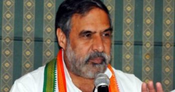 Congress on backfoot as Anand