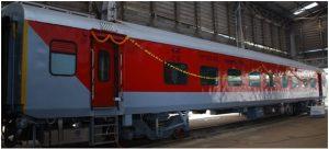 CR's Matunga Workshop rolls out 100th LHB coach