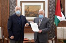 Palestine's Abbas issues decree