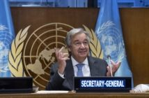 UN chief urges donor