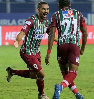Stoppage time goal helps Bagan