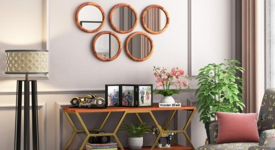 Lights & mirrors: A clutter