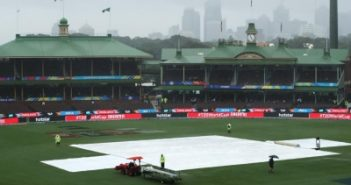 Rain, rain stay away, India players