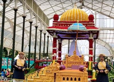 Iconic Bengaluru flower show