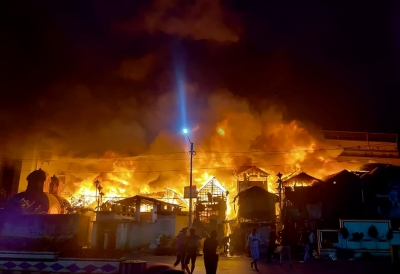 Major fire breaks out at