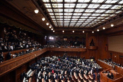 Japanese Parliament starts regular session