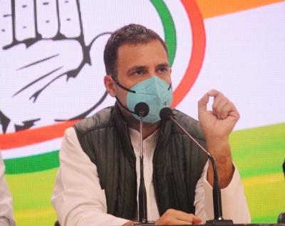 Rahul Gandhi unveils calendar honouring
