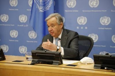 UN chief Guterres running for