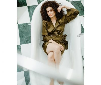 Taapsee Pannu engages in