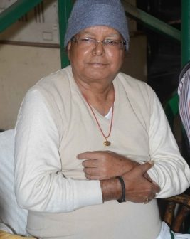Lalu Prasad 'stable and recovering',