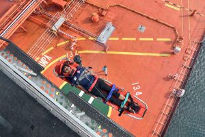 Indian Navy Undertakes Medical Evacuation from Merchant Ship