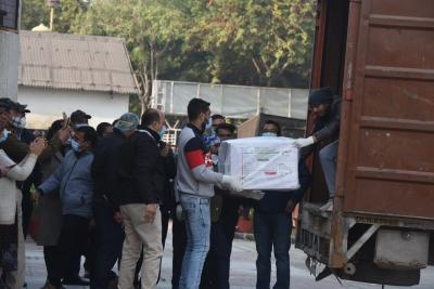 Covaxin arrives in Delhi; 20,000