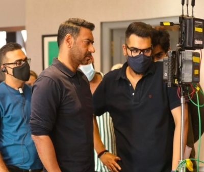 Ajay Devgn has 'almost wrapped'