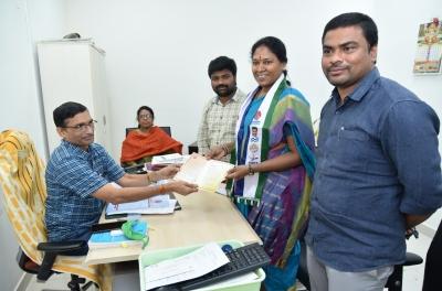 YSRCP's Pothula Suneetha elected