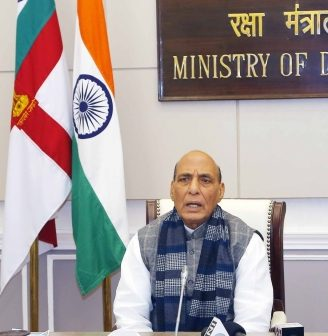 Rajnath to attend Veterans Day