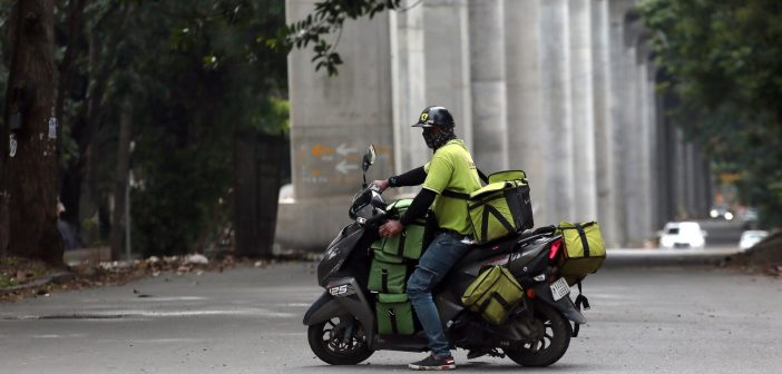 Food delivery service booms in Iraq amid pandemic. During the Covid pandemic, food delivery service surged in Iraq