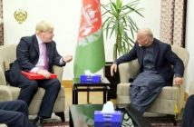 'UK supports Afghan's fight