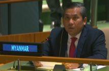 Myanmar envoy to UN defies