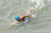 Jiya Rai swims from Bandra-Worli Sealink to Gateway of India to create awareness about Autism