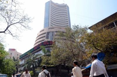 Sensex up over 400 points
