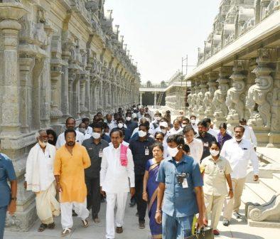 Telangana's Yadadri temple t