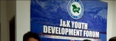 Kashmir youth activists hold