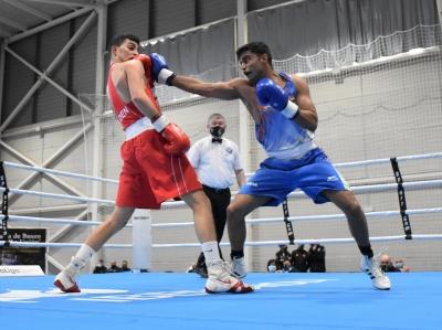 Boxam boxing: India finish