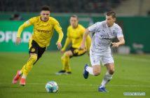 Dortmund edge Monchengladbach