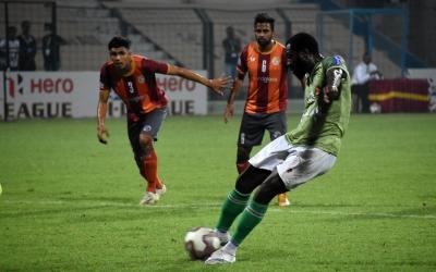 I-League: Antwi's penalty
