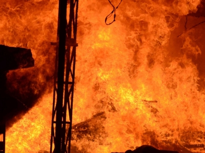 3 missing and 19 hurt in Indonesia refinery blaze