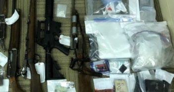 Alongside guns, heroin flows